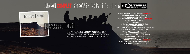 BruxellesTour Dates Boulevard des airs