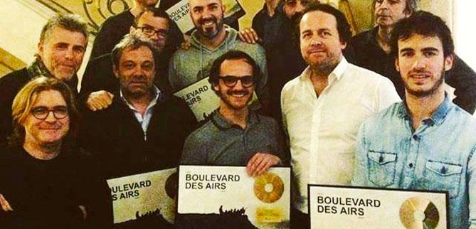 Bruxelles Disque d'Or Boulevard des airs