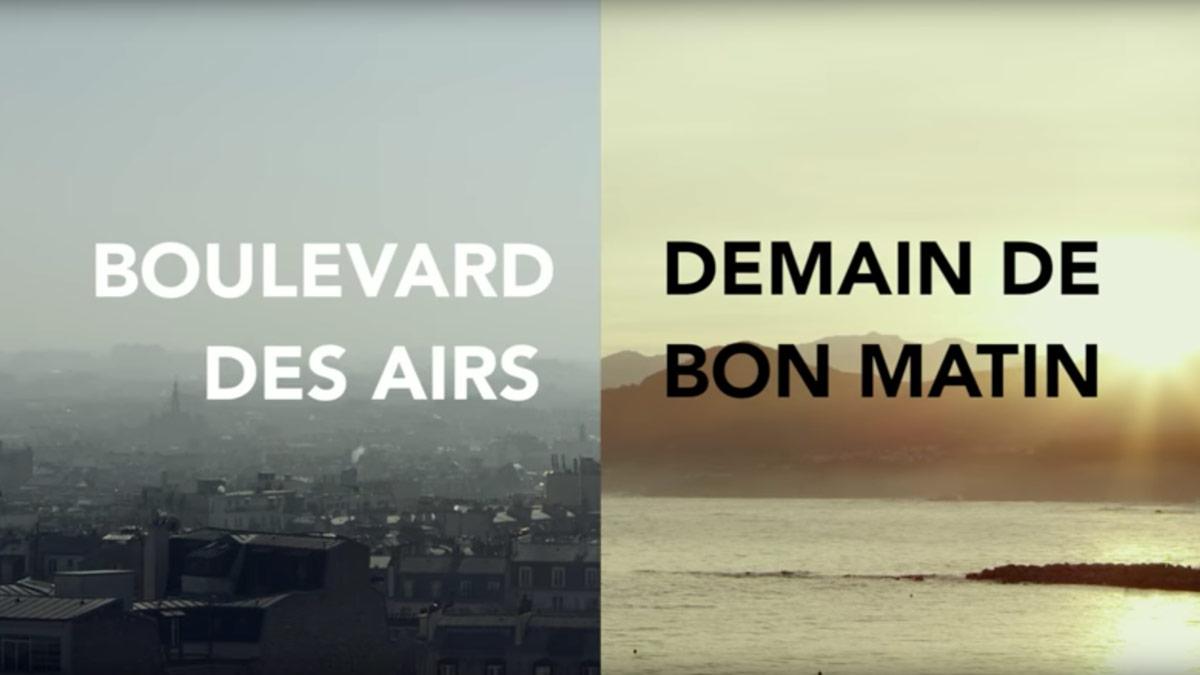 Vidéo Clip Demain de bon matin Boulevard des airs