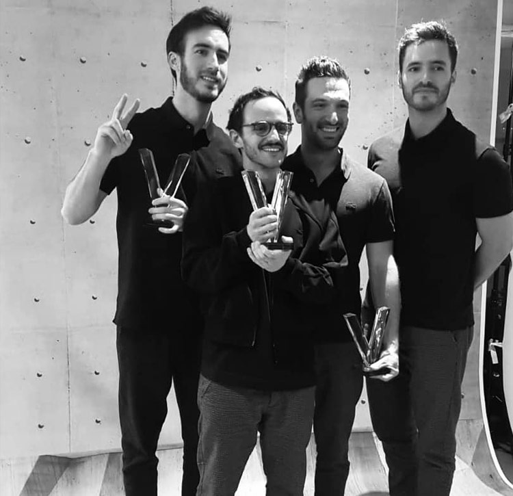 Victoire de la Musique Chanson originale de l'année 2019 (3) Boulevard des Airs