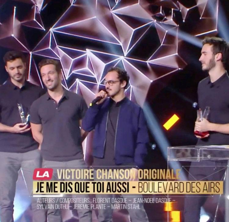 Victoire de la Musique Chanson originale de l'année 2019 (0) Boulevard des Airs