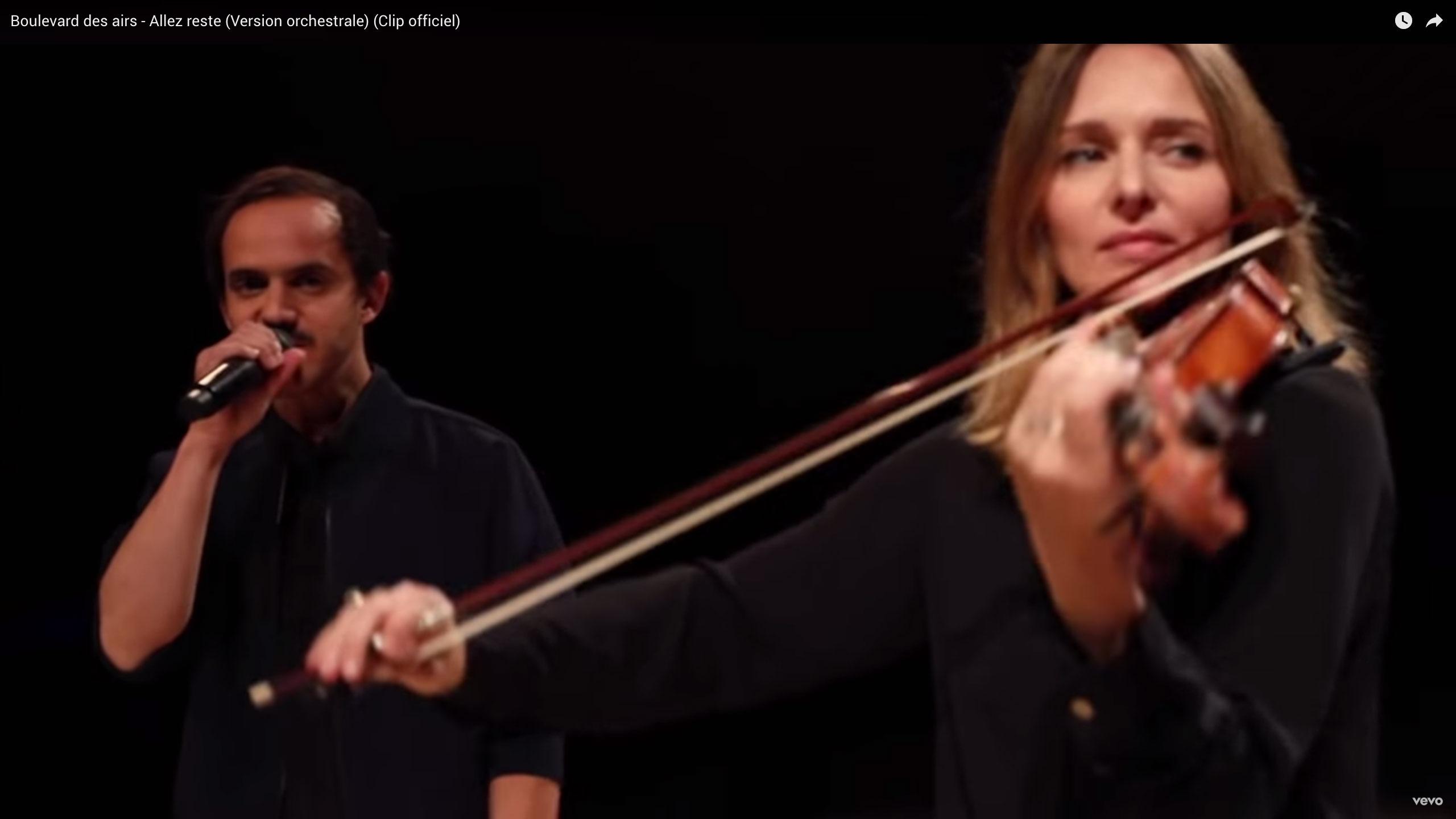 a Allez reste Version orchestrale Paul Rouger Images Benoit Mallory Boulevard des Airs