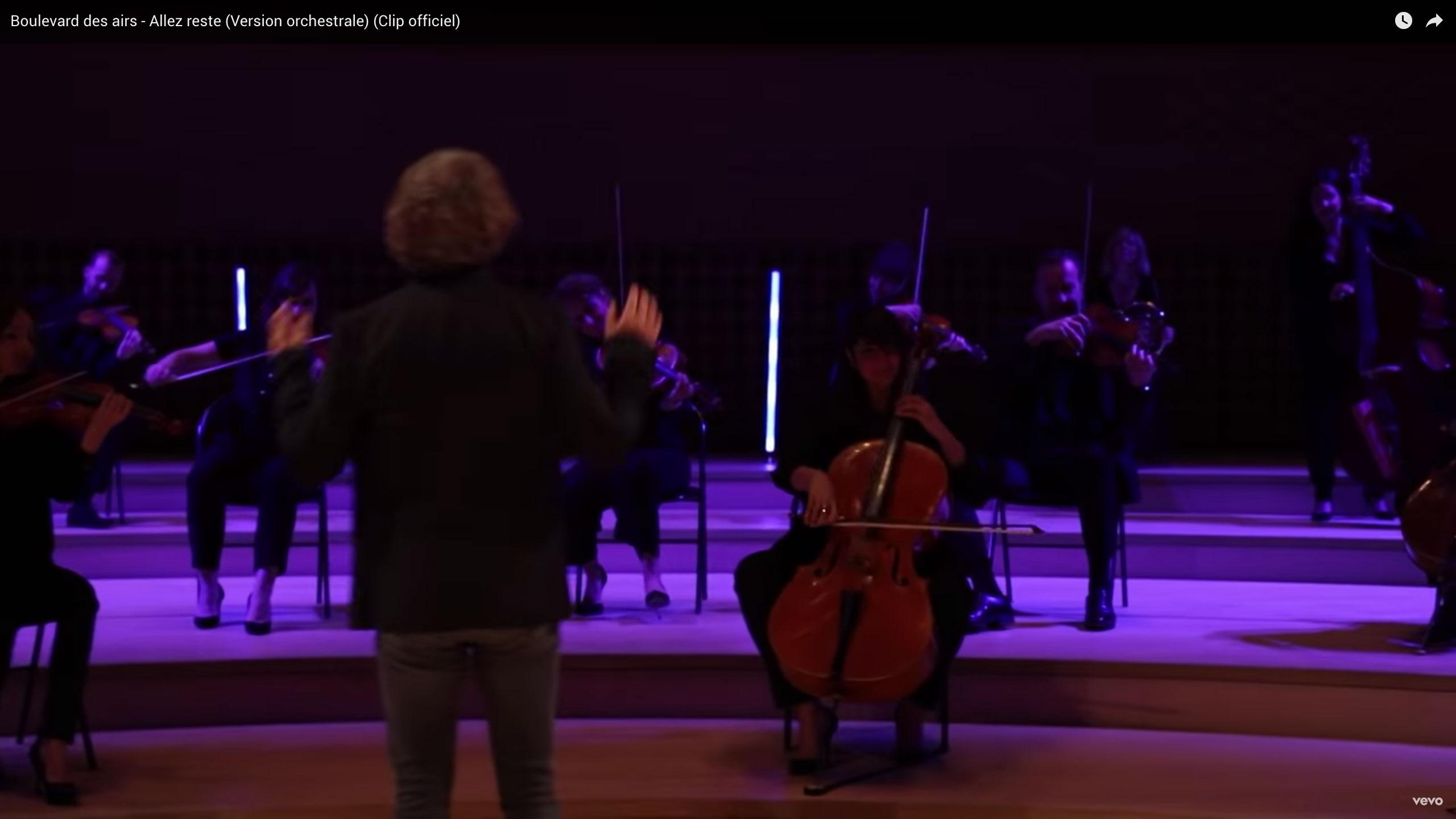 c Allez reste Version orchestrale Paul Rouger Images Benoit Mallory Boulevard des Airs