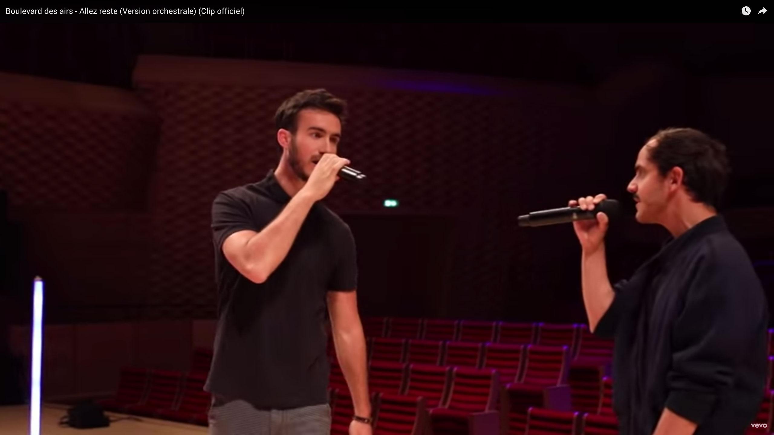 f Allez reste Version orchestrale Paul Rouger Images Benoit Mallory Boulevard des Airs