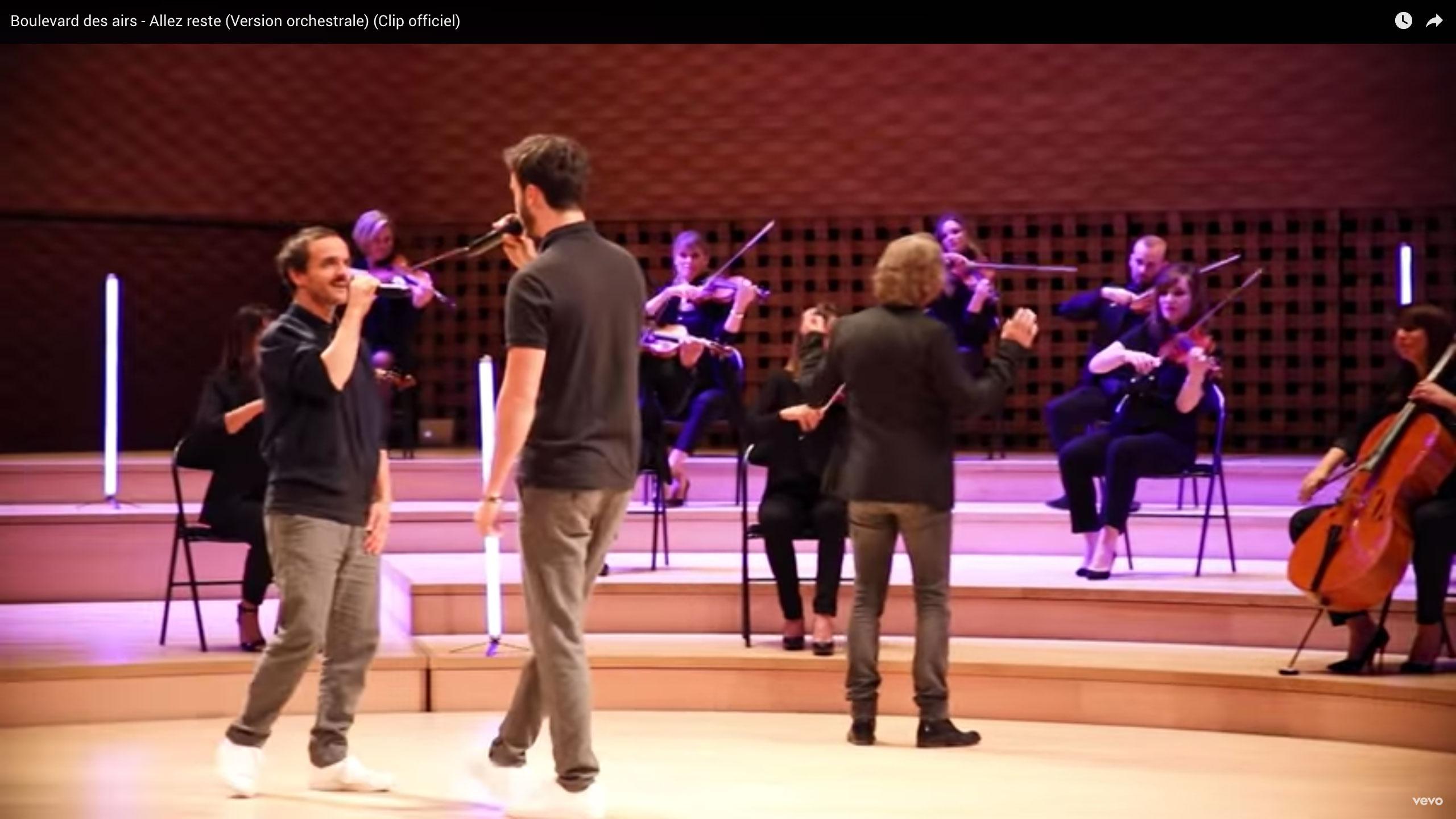 h Allez reste Version orchestrale Paul Rouger Images Benoit Mallory Boulevard des Airs