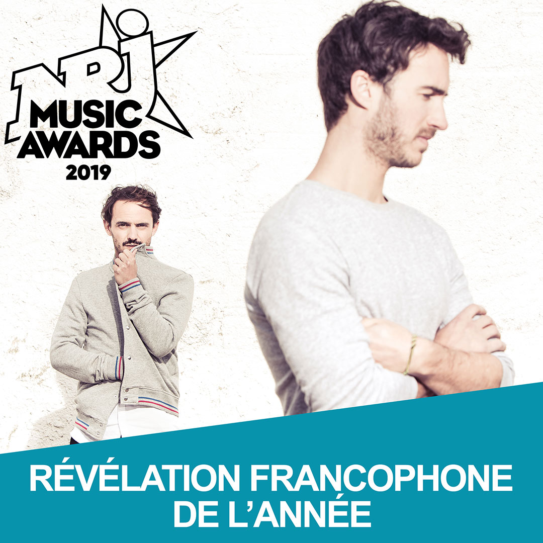 NRJ Music Awards 2019 Boulevard des Airs
