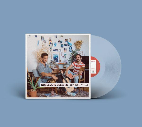 """VINYLE """"LOIN DES YEUX"""" """"Loin des yeux"""" est disponible en double-vinyle transparent !"""